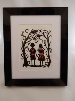 Hansel and Gretel Dark Shadows Fairytale Picture