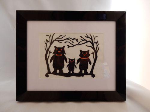Three Little Pigs Dark Shadow Picture
