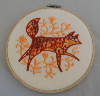 Prowling fox
