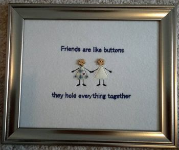 Button Friends Picture