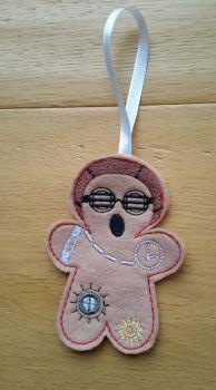 Steam Punk Gingerbread man Goggles