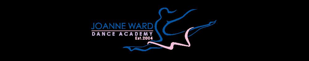 joanne ward dance academy, site logo.
