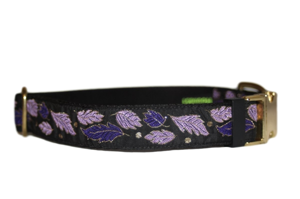 Purple Metallic Leaves (Luxury)