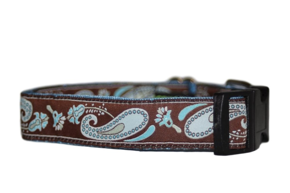 Blue & Brown Paisley