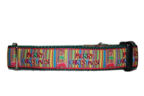 Christmas Barcode - Medium Clip Collar