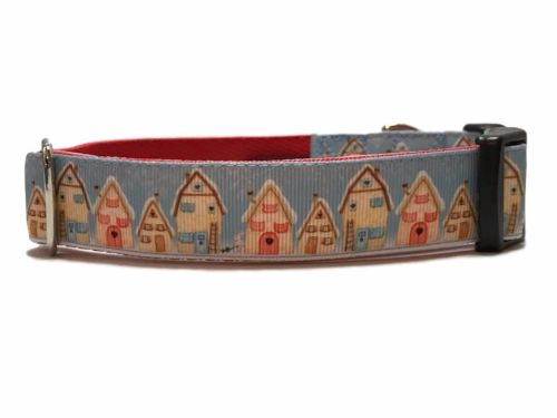 Gingerbread Houses - Medium Clip Collar