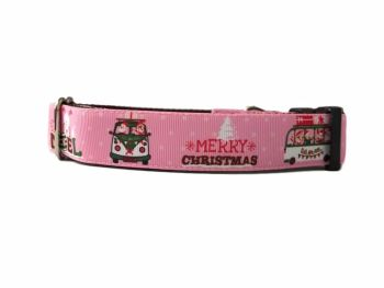 Christmas Camper - Medium Clip Collar