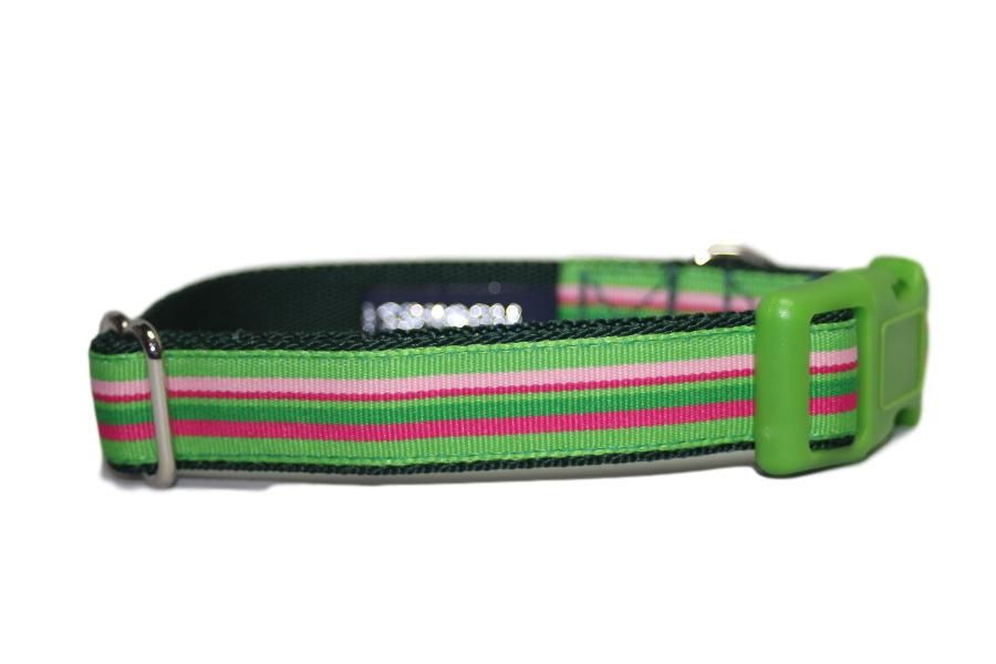 Green Candy Stripes