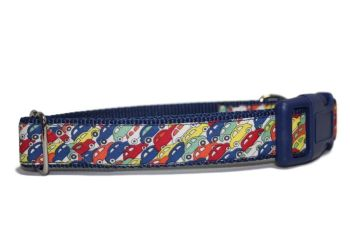 Blue Liberty Fabric Cars