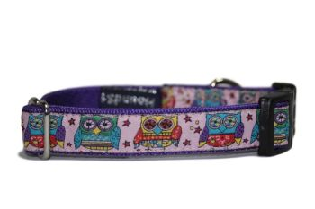 Pink Funky Owls