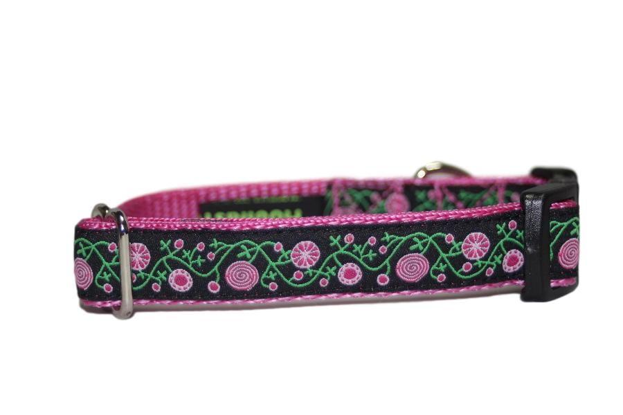 Pink & Black Floral