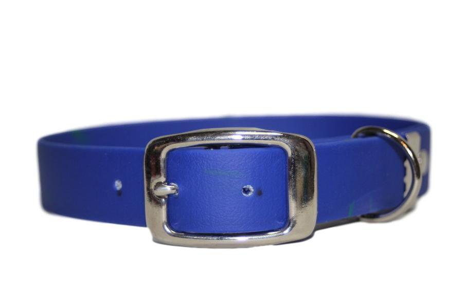 Royal Blue Biothane Buckle Collar