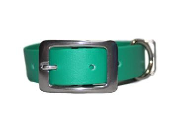Emerald Green Biothane Buckle Collar