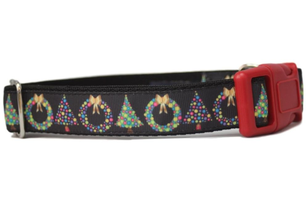 Black Garlands - Medium Clip Collar