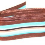 Brown Candy Stripe
