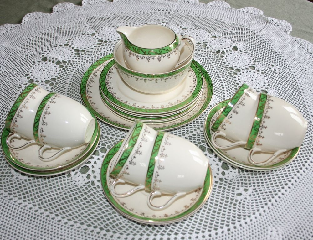 Vintage Alfred Meakin Tea Set for 6 (21-Pieces) c 1950's