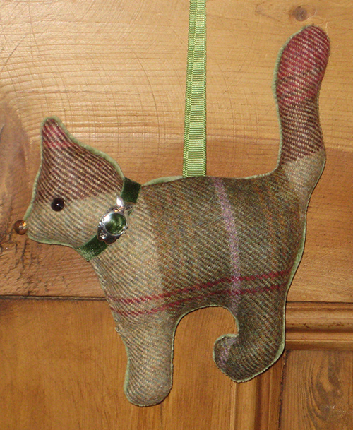 Tweed Cat - Autumn