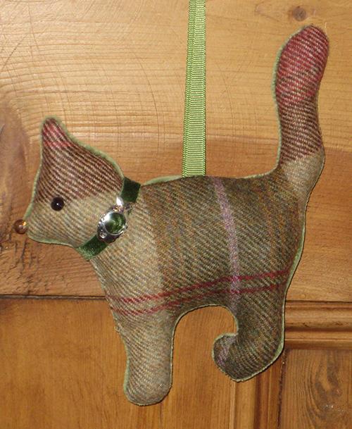Tweed Cat - Autumn