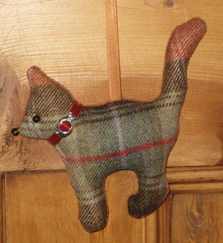 Tweed Cat - Chestnut