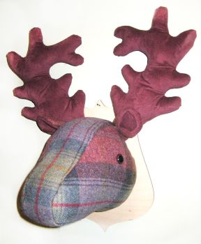 Large Stags Head -  Moorland