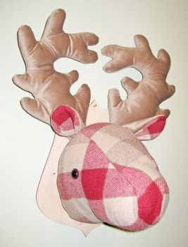 Large Stags Head -  Rupert Red