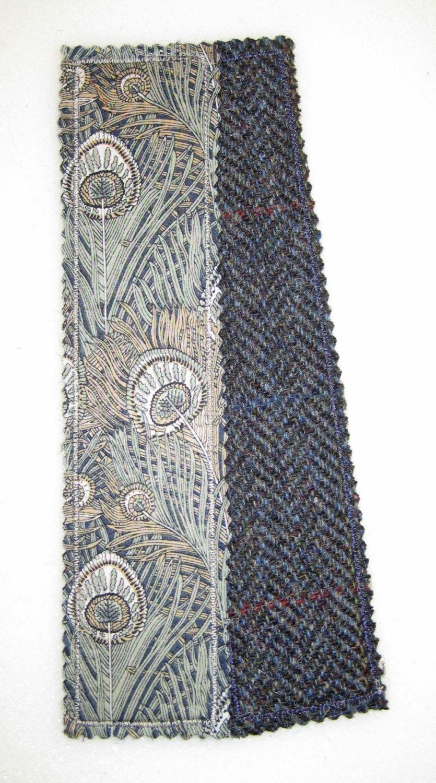 Liberty - Hera and Harris Tweed Bookmark