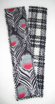 Liberty - Caesar and Harris Tweed Bookmark