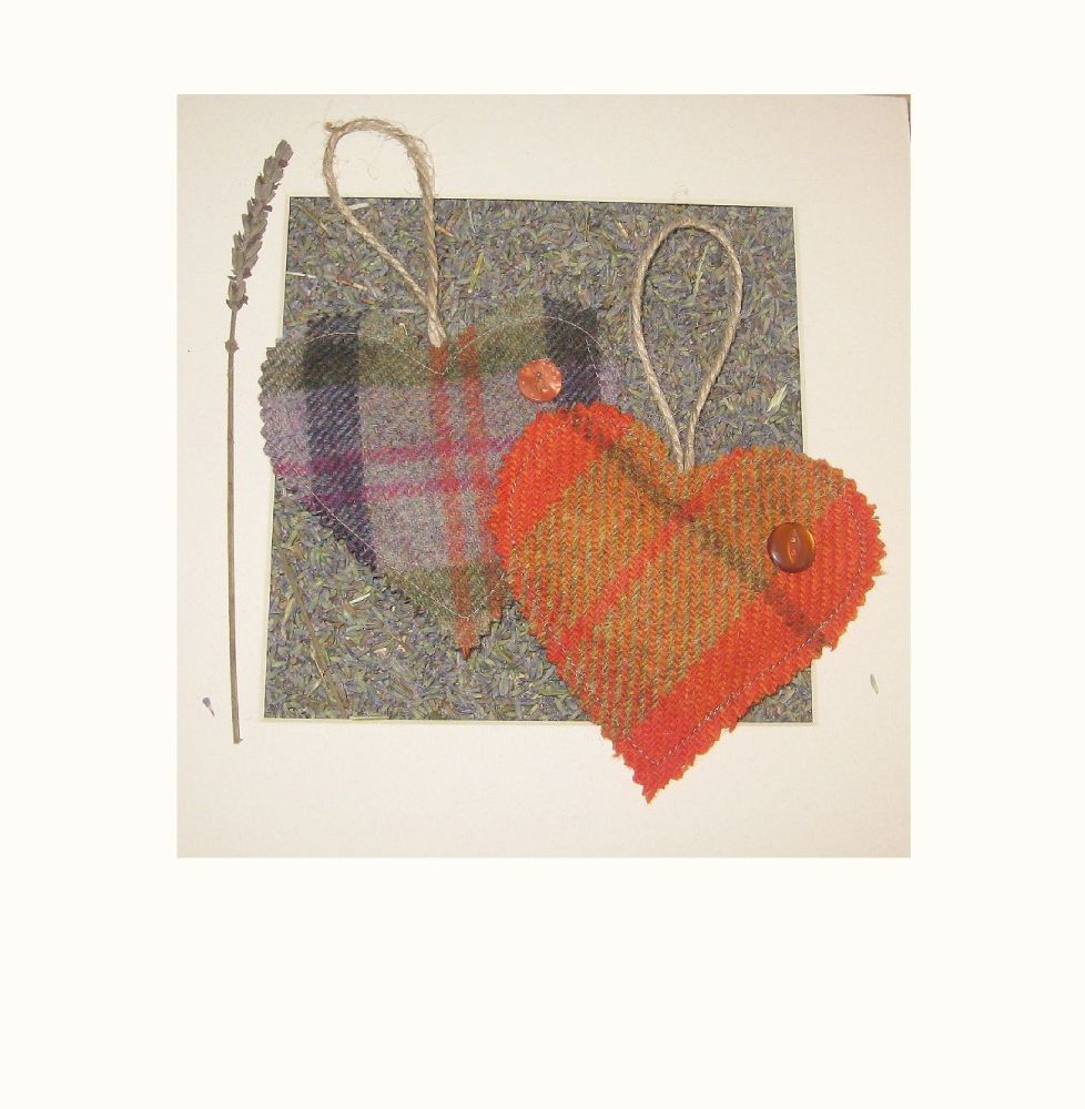 Lavender Heart Duo - ColourwayYorkshire
