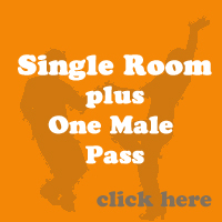 Single Room & a Male pass