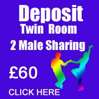 October Deposit Twin 2 male passes