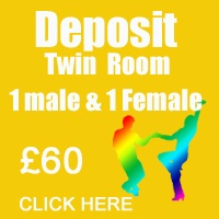 June Deposit Twin Room 1male & 1 female