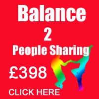 October Balance 2 People Sharing