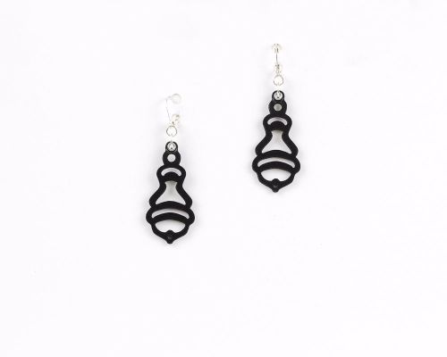 New Laser Cut Leather Earrings