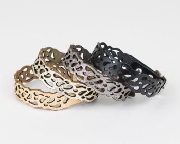 Leather Bracelet 'Amelie'