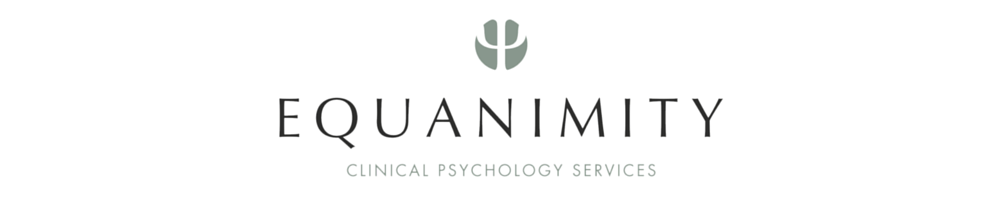 Equanimity Clinical Psychology, site logo.