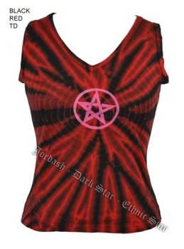 Dark Star by Jordash V necked cotton sleeveless t-shirt DS/TS/4207