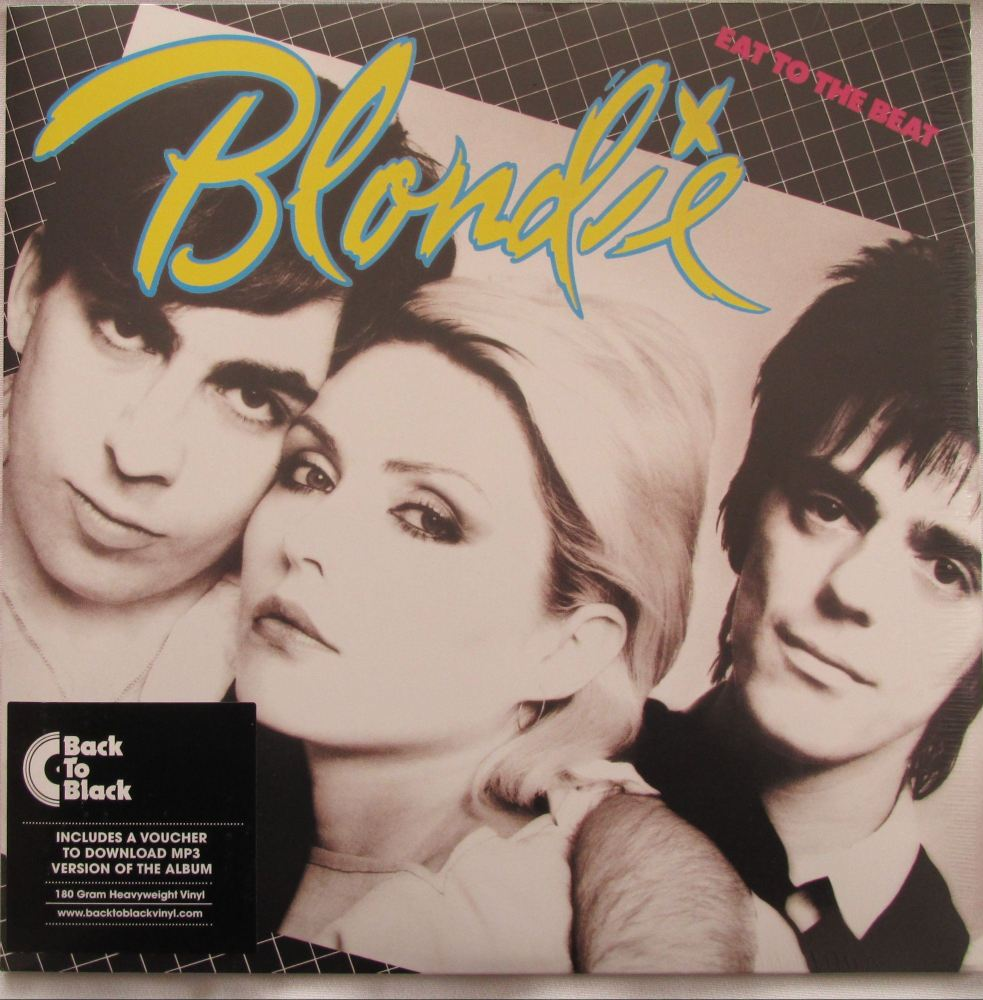Blondie  Eat To The Beat  180 gram Heavy weight vinyl LP +MP3 DOWNLOAD