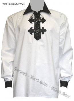 Dark Star by Jordash Gothic pirate shirt DS/SH/5740 Free Size available in black or white