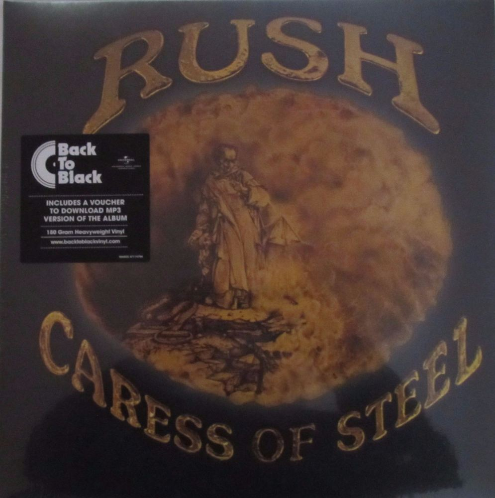 Rush   Caress Of Steel    2015 180 Gram HeavyWeight Vinyl Reissue + MP3 Dow