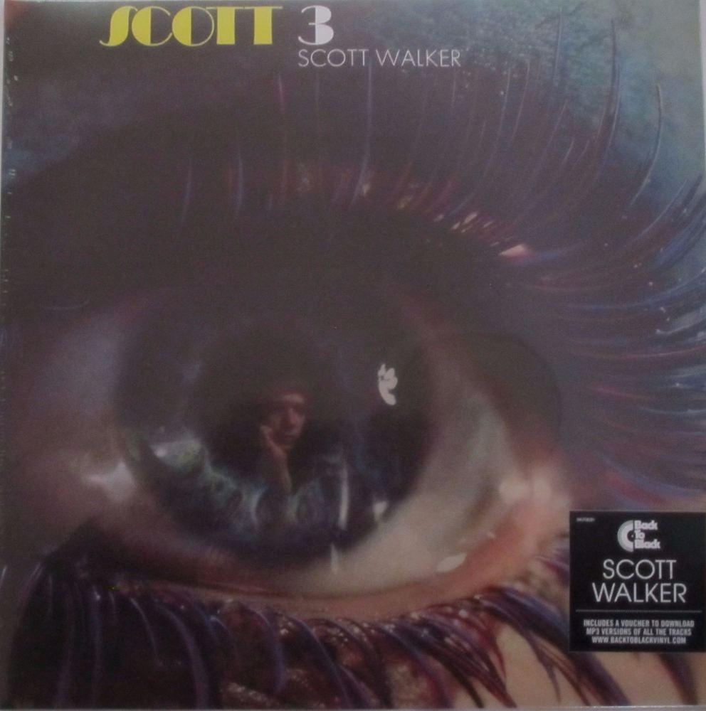 Scott Walker     Scott 3  2014 Reissue  Vinyl LP Includes MP3 Download Vouc