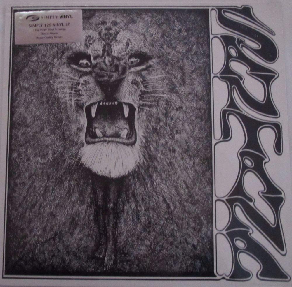 Santana   Santana    125 Gram Virgin Vinyl Pressing LP Simply Vinyl