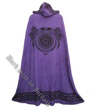 Dark Star by Jordash reversible cape DS/JK/4102 Purple