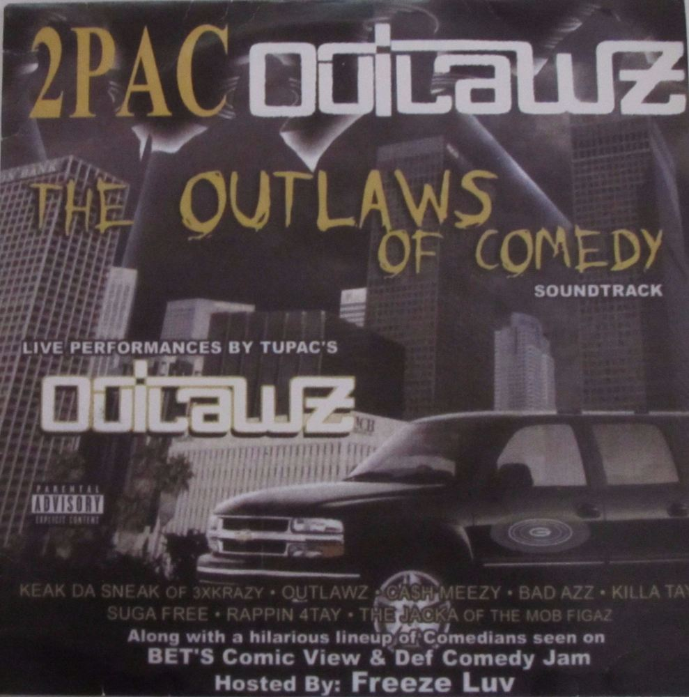 2Pac Outlaws  The Outlaws Of Comedy   2004 Double Vinyl lp