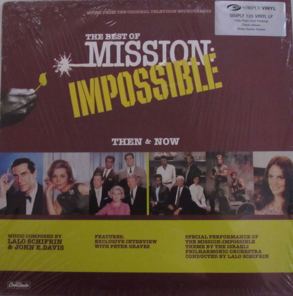 The Best Of Mission Impossible Then & Now  Original TV Soundtracks 2001  12