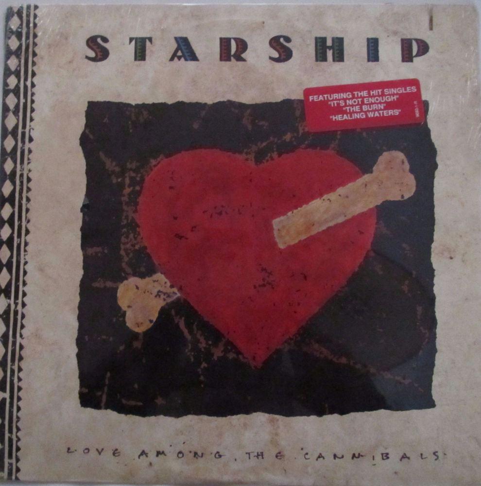 Starship   Love Among The Cannibals     1989  U.S.A. Vinyl LP   CAT No : 96