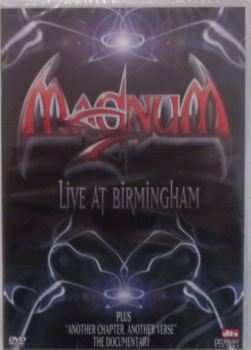 Magnum  - Live At Birmingham  Plus Another Chapter Another Verse -The Documentary    DVD ( All Regions )