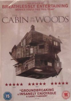 The Cabin In The Woods        2012  DVD  Region 2