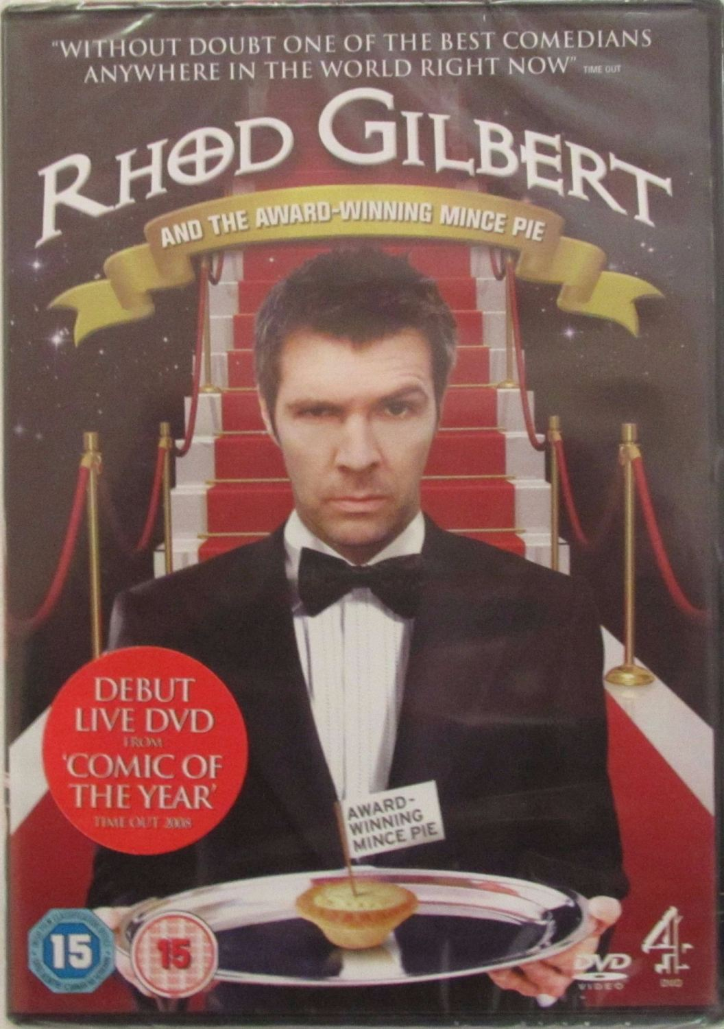 Rhod Gilbert And The Award-Winning Mince Pie    2009 DVD Region 2