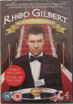 Rhod Gilbert And The Award-Winning Mince Pie    2009 DVD Region 2