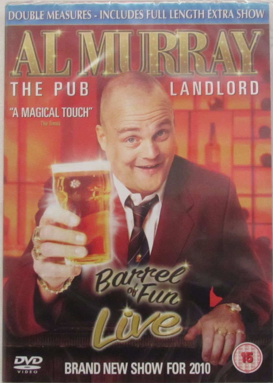 Al Murray  The Pub Landlord - Barrel Of Fun Live   2010   DVD Region 2